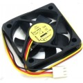 Вентилятор Gembird 50x50x10 подшипник 12V 0,13A 4500 об/мин (D50SM-12AS)