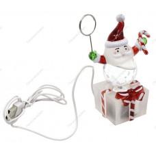 Новогодний сувенир ''Дед Мороз - подарок на память'' Orient NY6001, питание от USB