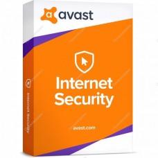Продление Avast Internet Security 2019 (лицензия для 1 ПК 3 года)