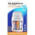 Зарядное устройство Pleomax 1016 Power Chager Plus + 2ак.(AA)xHR6 2300 mAh)