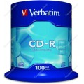 Диск CD-R Verbatim 700Mb 52-х (поштучно)