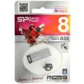 Носитель информации Silicon Power USB Drive 8Gb Touch 835 SP008GBUF2835V1T (USB2.0, Titan)