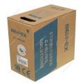 Сетевой кабель Behpex  UTP 5e, 4 пары, одножильный, 24AWG/0.51мм, омедненный