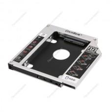 Адаптер для жесткого и SSD диска Optibay 12.7mm SATA 3.0 (Second HDD Caddy)