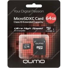 Карта памяти Micro SD 64Gb (sb64gbsdcl10-01)