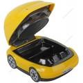 Пепельница ''Автомобиль'' Orient-168Y, желтая