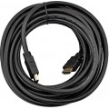 Кабель HDMI Gembird, 10м, v1.4, 19M/19M, черный, поз.разъемы., экран, пакет [CC-HDMI4-10M]