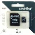 Карта памяти Micro SD 2Гб (sb2gbsd-00)