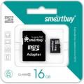 Карта памяти Micro SD 16Гб (sb16gbsdcl10-01)
