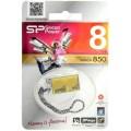 Носитель информации Silicon Power USB Drive 8Gb Touch 850 SP008GBUF2850V1A (USB2.0, Amber)